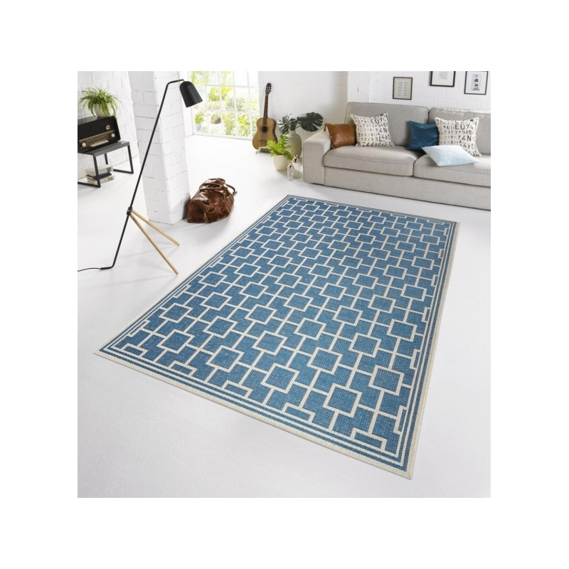 Kusový koberec BOTANY Bay Blau 102481 - venkovní (outdoor)