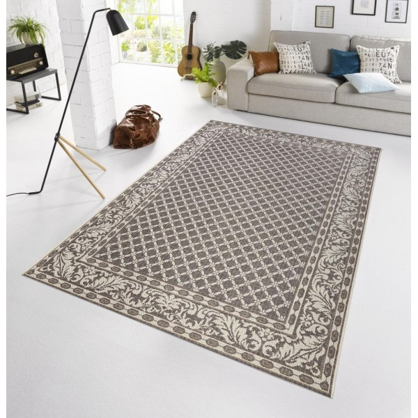 Bougari - Hanse Home koberce Kusový koberec BOTANY Royal Grau - venkovní (outdoor), 115x165% Šedá - Vrácení do 1 roku ZDARMA vč. dopravy