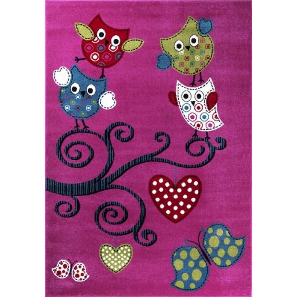 Ayyildiz koberce Kusový koberec Kids 420 lila, 80x150 cm% Fialová, Růžová - Vrácení do 1 roku ZDARMA vč. dopravy
