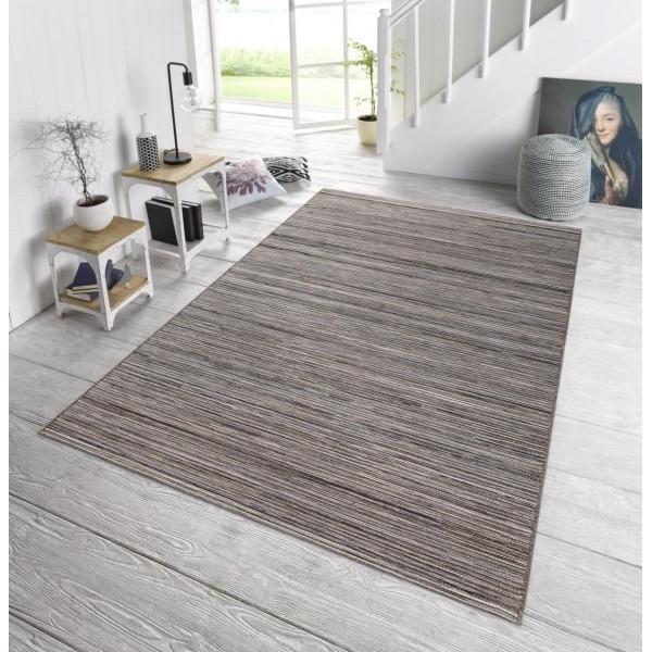 Bougari - Hanse Home koberce Venkovní kusový koberec Lotus Grau Meliert, kusových koberců 80x240 cm% Šedá - Vrácení do 1 roku ZDARMA vč. dopravy