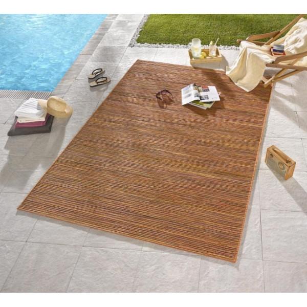 Bougari - Hanse Home koberce Venkovní kusový koberec Lotus Terra Orange Meliert, kusových koberců 80x240 cm% Oranžová - Vrácení do 1 roku ZDARMA vč. dopravy