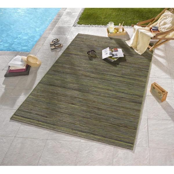 Bougari - Hanse Home koberce Venkovní kusový koberec Lotus Grün Meliert, kusových koberců 80x240 cm% Zelená - Vrácení do 1 roku ZDARMA vč. dopravy