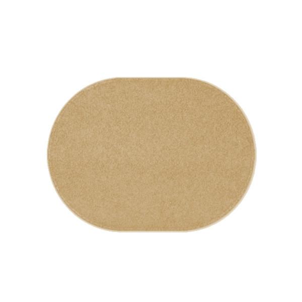 Vopi koberce Kusový béžový koberec Eton ovál, kusových koberců 50x80 cm% Šedá - Vrácení d