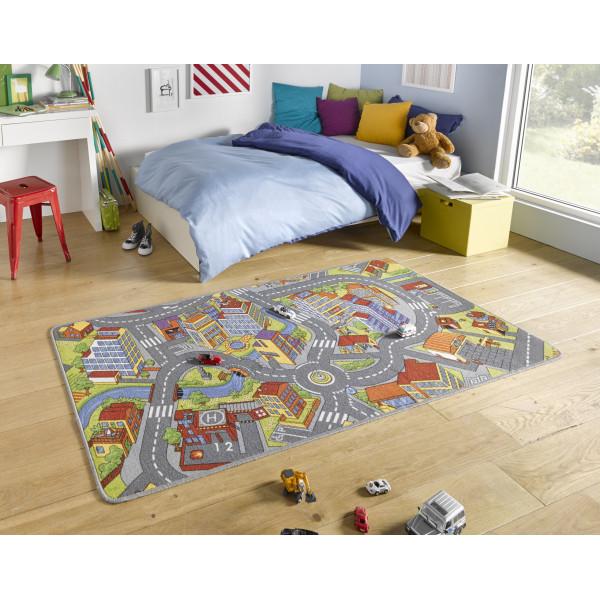 Hanse Home Collection koberce Kusový koberec Play 102379, koberců 90x200 cm Šedá - Vrácení do 1 roku ZDARMA