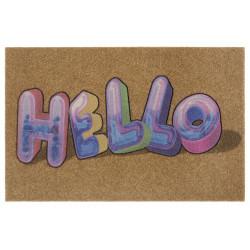 Protiskluzová rohožka Mujkoberec Original 104662 Brown/Multicolor