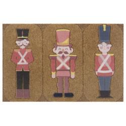Protiskluzová rohožka Mujkoberec Original 104667 Brown/Red