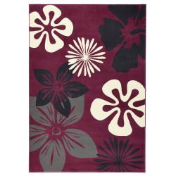 Kusový koberec GLORIA Flora Gray