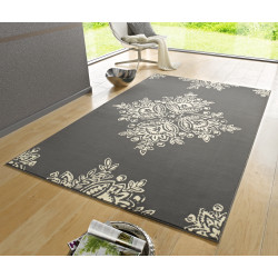 Kusový koberec GLORIA Flora Blau