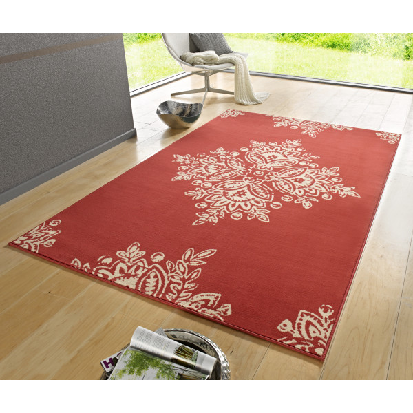 Hanse Home Collection koberce Kusový koberec Gloria 102426, 160x230 cm% Červená - Vrácení do 1 roku ZDARMA vč. dopravy