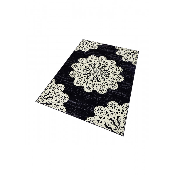 Hanse Home Collection koberce Kusový koberec Gloria 102420, 160x230 cm% Černá - Vrácení do 1 roku ZDARMA vč. dopravy
