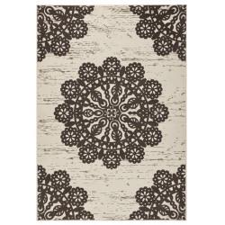 Kusový koberec GLORIA Lace Dunkelbraun Creme
