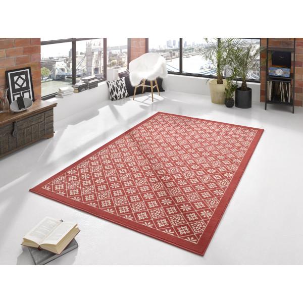 Hanse Home Collection koberce Kusový koberec Gloria 102424, 160x230 cm% Červená - Vrácení do 1 roku ZDARMA vč. dopravy