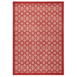 Kusový koberec GLORIA Tile Koralle Creme