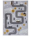Dětský koberec Adventures 104535 Grey/mustard