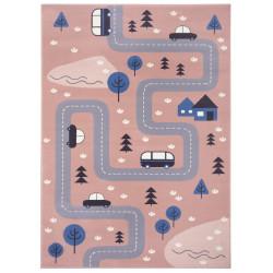 Dětský koberec Adventures 104538 Rose