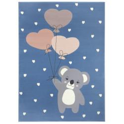Dětský koberec Adventures 104540 Sky-blue