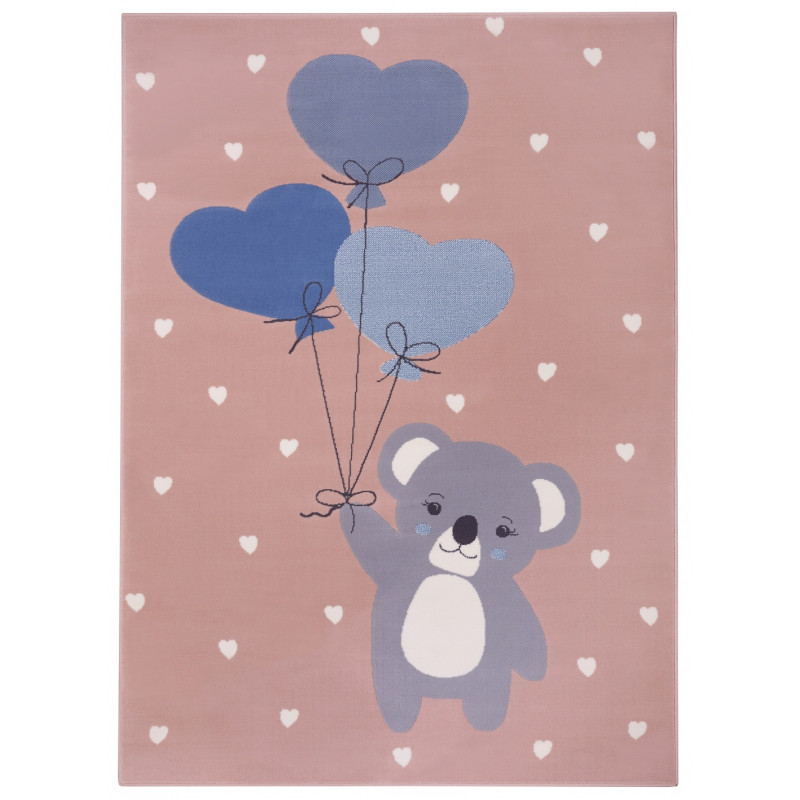Dětský koberec Adventures 104541 Rose