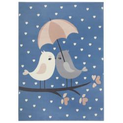Dětský koberec Adventures 104543 Sky-blue