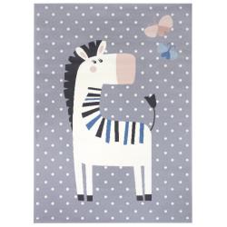 Dětský koberec Adventures 104555 Grey