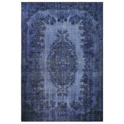 Kusový orientální koberec Chenille Rugs Q3 104745 Dark-blue