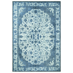 Kusový orientální koberec Chenille Rugs Q3 104747 Light-blue