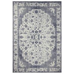 Kusový orientální koberec Chenille Rugs Q3 104748 Silver-Grey