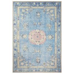 Kusový orientální koberec Chenille Rugs Q3 104757 Light-blue