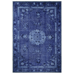 Kusový orientální koberec Chenille Rugs Q3 104761 Dark-Blue
