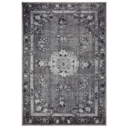 Kusový orientální koberec Chenille Rugs Q3 104762 Dark-Grey