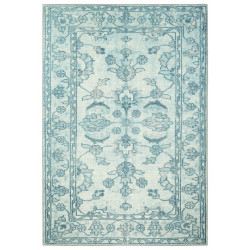 Kusový orientální koberec Chenille Rugs Q3 104763 Light-Blue