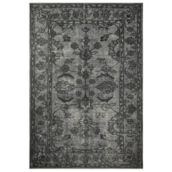 Kusový orientální koberec Chenille Rugs Q3 104768 Dark-Grey