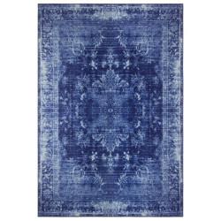 Kusový orientální koberec Chenille Rugs Q3 104772 Dark-Blue