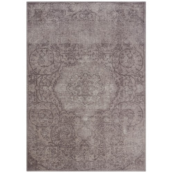 Kusový orientální koberec Chenille Rugs Q3 104699 Brown-Grey