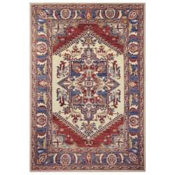 Kusový orientální koberec Chenille Rugs Q3 104804 Red-blue