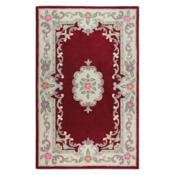Ručně všívaný kusový koberec Lotus premium Red