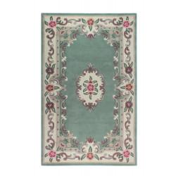 Ručně všívaný kusový koberec Lotus premium Green