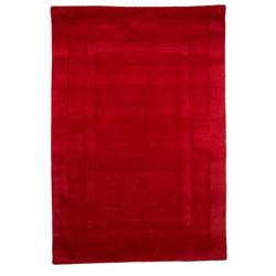 Ručně všívaný kusový koberec Sierra Red