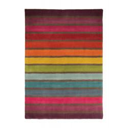 Ručně všívaný kusový koberec Illusion Multi