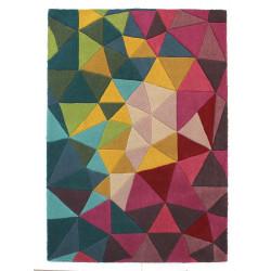 Ručně všívaný kusový koberec Illusion Falmouth Multi