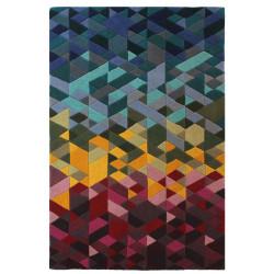 Ručně všívaný kusový koberec Illusion Kingston Multi