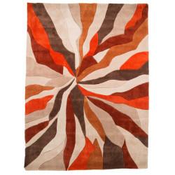 Ručně všívaný kusový koberec Infinite Splinter Orange