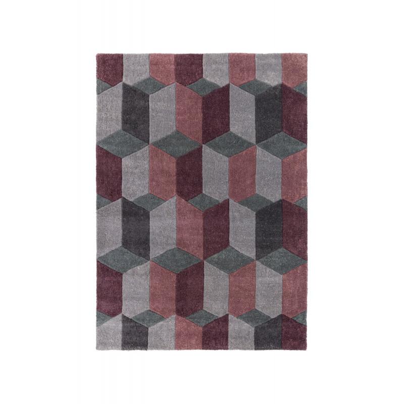 Ručně všívaný kusový koberec Infinite Scope Purple