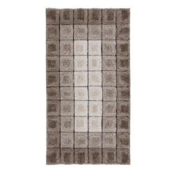 Kusový koberec Velvet-3D Cube Natural