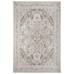 Kusový orientální koberec Flatweave 104805 Cream/Light-brown