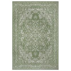 Kusový orientální koberec Flatweave 104810 Green/Cream