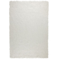 Kusový koberec Agatha Faux Fur Antwerp Ivory