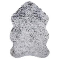 Kusový koberec Anja Faux Fur Helsinki Grey