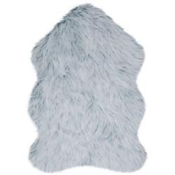 Kusový koberec Anja Faux Fur Helsinki Teal