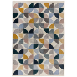 Kusový koberec Cadiz Alcazar geometric Grey/Multi