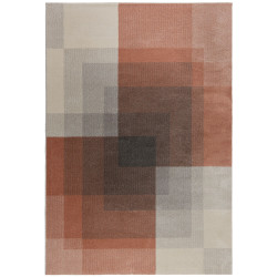 Kusový koberec Cadiz Plaza Abstract Grey/Pink